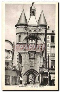 Old Postcard The Great Bell Bordeaux