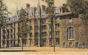 nj-princeton Reunion and Part of University Offices postal used unknown