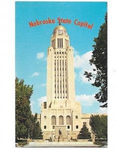 Nebraska State Capitol 400 ft. Tower Impressive! Lincoln Nebraska