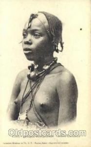 Jeune Lahobee African Nude Post Card Post Card  Jeune Lahobee