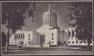 State Capitol,Salem,OR Postcard