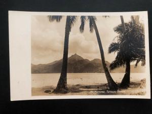 Mint American Samoa RPPC Real Picture Postcard MT Matafao Tutuila