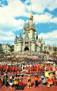 Walt Disney World Cinderella Castle 1990