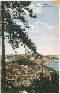 Hungary Budapest view from Mount Saint Gellert circa 1941