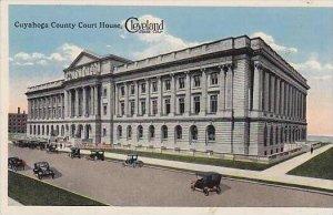 Ohio Cleveland Cuyahoga County Court House