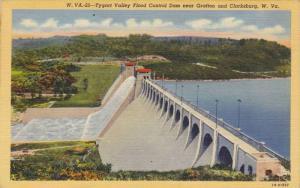 Tygart Valley Flood Control Dam Near Grafton & Clarksburg, West Virginia, 193...