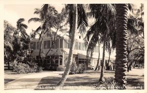 Key West Florida~RPPC President Truman Little White House~US Naval Station 1940s