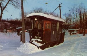 CT - New Haven. Branford Trolley Museum, Snowplow