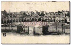 Old Postcard Dijon Place d & # 39armes