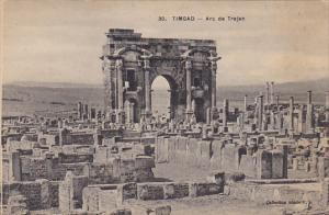 Algeria Timgad Arc de Trajan