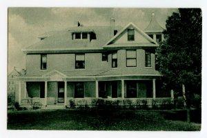 Postcard Benet Hall Mount St. Scholastica College Atchison KS Standard View Card