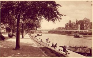 THE GROVES ALONG RIVER DEE CHESTER ENGLAND UK