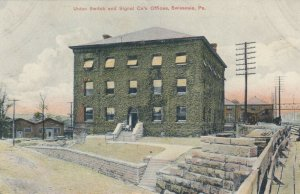 SWISSVALE , Pennsylvania , 1908 ; Union Switch & Signal Co.'s Office