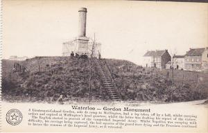 Belgium Waterloo Gordon Monument