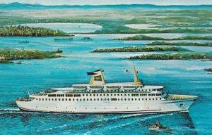 Ferry M/S PRINCE OF FUNDY Yarmouth , Nova Scotia , 1950-60s
