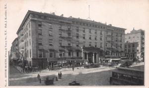 Astor House, Broadway & Vesey St., N.Y.C., Very Early Postcard, Unused