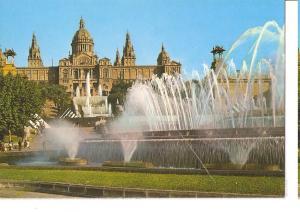 Postal 045502 : Barcelona. Parque de Montjuich. Palacio Nacional del Arte