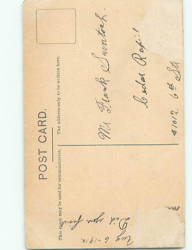 Divided-Back PRETTY WOMAN Risque Interest Postcard AA7776