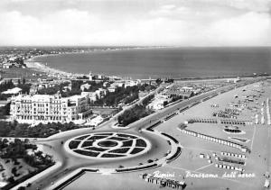 Italy Rimini Panorama vu de L'Avion Aerial view