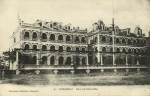 china, SHANGHAI, German Consulate (1899) Denniston & Sullivan