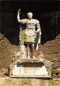 France Orange (Vaucluse) La Statue de l'Empereur Auguste Theatre Romain Statue
