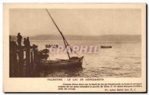 Palestine - The Lake Genezareth - Old Postcard