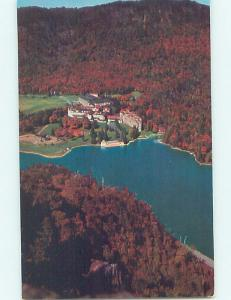 Pre-1980 AERIAL VIEW OF BALSAMS HOTEL Dixville Notch - Near Jefferson NH F6935