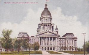 Illinois Springfield State Capitol Building 1911