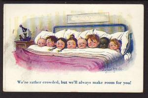 We're Rather Crowded....... McGill Post Card  5179