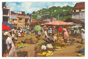Fort-de-France, Martinique, Fruit & Vegetable Market, 50-60s