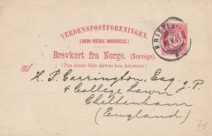 Postal Card , 1901s ; Norway
