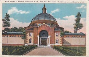 Michigan Detroit Bird House At Detroit Zoological Park Ten Mile Road And Wood...