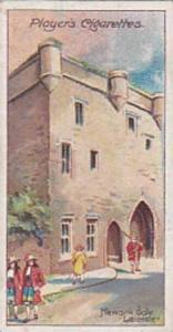 Player Vintage Cigarette Card Celebrated Gateways 1909 No 15 Newark Gate Leic...