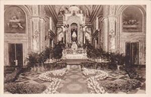 Cuba Havana Our Lady Of Mercy Church Main Altar Decorated For Wedding