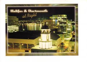 Halifax and Dartmouth at Night Nova Scotia,