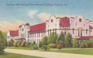 VALDOSTA, Georgia, 1930-1940s; Converse Hall, Georgia State Women's College
