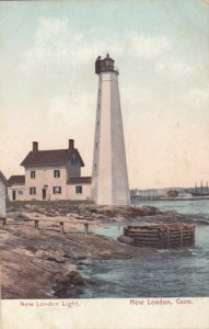 NEW LONDON , Connecticut , 1901-07; New London Light, Lighthouse
