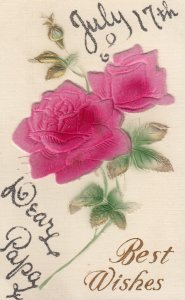 Silk Rose Flower , 1909