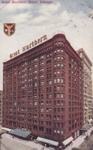 CHICAGO, Illinois, 1900-10s; Great Northern Hotel
