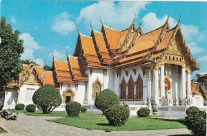 Thailand Bangkok Wat Benchamapobhitr The Marble Temple sk5807