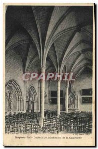 Old Postcard Noyon chapter house dependence of the cathedral