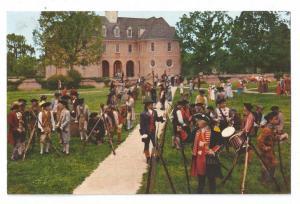 Williamsburg VA Film Scene Colonial Militia Virginia