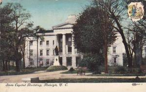 Exterior, State Capitol Building, Raleigh, North Carolina,  00-10s