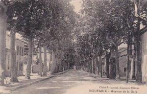 Algeria Boufarik Avenue de la Gare