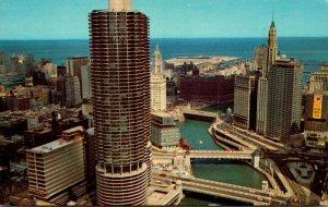 Illinois Chicago Marina City