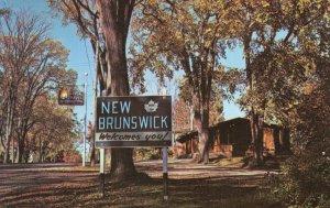 The Travel Bureau at St. Stephen New Brunswick Canada Postcard