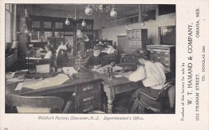 GLOUCESTER , New Jersey , 00-10s ; Welsbach Factory ; Superintendent's Office
