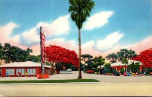 Florida Tampa Royal Poinciana Motel and Trailer Park