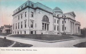 Iowa Historical Building, DES MOINES, Iowa, PU-1910