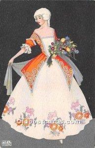 Artist Signed Mela Koehler Post Card Artist Signed Mela Koehler 1913 light co...